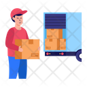 Package Loading Icon