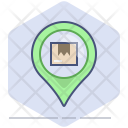 Location Pin Tracking Icon
