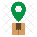 Location Package Delivery Icon