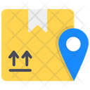 Package Location Shipping Location Parcel Address Icon