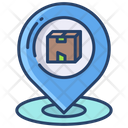 Kartboard Delivery Location Currier Icon