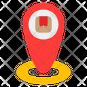 Location Delivery Box Icon