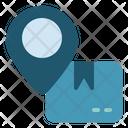 Location Delivery Cargo Icon