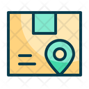 Package Location Location Delivery Icon