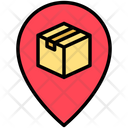 Package Location Delivery Location Location Icon