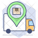 Courier Location Package Icon