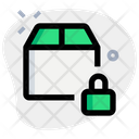 Package Lock Secure Delivery Package Icon
