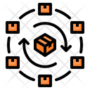 Network Distribution Package Icon