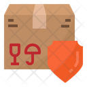 Safety Package Box Icon