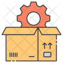 Package Setting Parcel Configuration Box Maintenance Icon