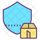 Package Protection Package Shield Package Security Icon