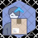 Postman Courier Parcel Icon