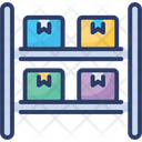 Package Storage Warehouse Box Icon