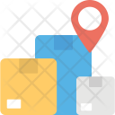 Package Tracking Location Icon