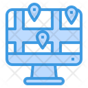 Map Destination Gps Icon