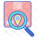 Package Tracking Courier Tracking Package Location Icon