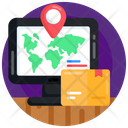 Package Tracking Parcel Tracking Parcel Address Icon