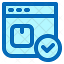Package Tracking Parcel Tracking Delivery Icon