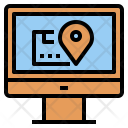 Package Tracking Online Icon