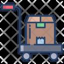 Kartboard Trolly Box Icon