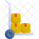 Trolley Package Box Icon
