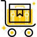 Package Trolley Delivery Trolley Trolley Icon