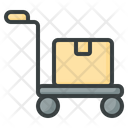 Package Trolley Trolley Cart Icon