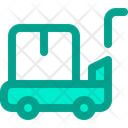 Package Trolley Trolley Logistic Icon