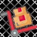 Package Trolley Parcel Trolley Trolley Icon
