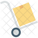 Box Trolley Package Icon