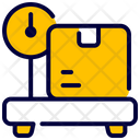 Weight Box Delivery Icon