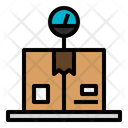 Package Delivery Logistic Icon