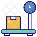 Package Weight Parcel Weight Platform Icon