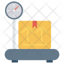Scale Package Weight Icon