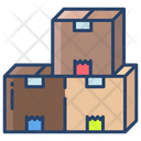 Kartboard Boxes Parcel Icon