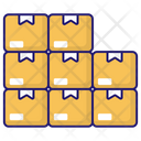 Packages Boxes Dolly Icon