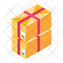 Parcels Delivery Packaging Cartons Icon