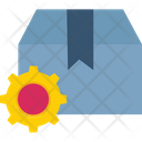 Packages Settings Business Operation Manufacturing Icon