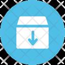 Packaging Carton Box Icon