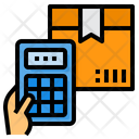 Calculator Packaging Delivery Icon