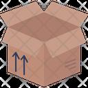 Cardboard Box Delivery Icon