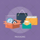 Packaging Creative Process Icon
