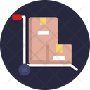 Packaging Boxes Delivery Icon