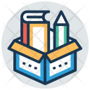 Learning Material Book Icon