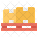 Packaging Pallet Icon