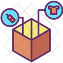 Packed Items Delivery Item Courier Item Icon