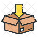 Packing Delivery Box Open Box Icon