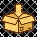 Delivery Box Open Box Add Item Icon