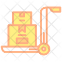 Packing Trolley Parcel Trolley Icon