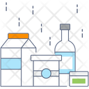 Packing Preserved Food Milk Packing Icon